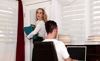 A MILF like Brandi Love will always give you the best blowjob