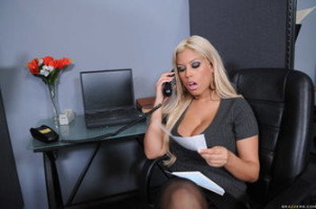 Big Tits At Work Bridgette B, Johnny Sins