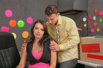 Naughty Office Kayla West, Mr. Pete