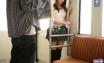 Japanese teen Rika Kijima has a thing for exhibiting upskirt panties