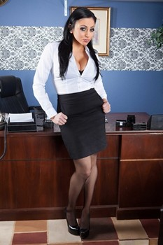 Big Tits At Work Audrey Bitoni, Raven Bay